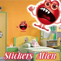stickers  Petit Martien 8