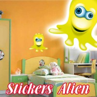stickers Petit Martien 6