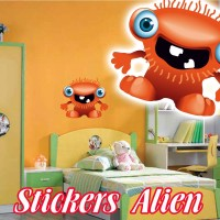 stickers Petit Martien 5