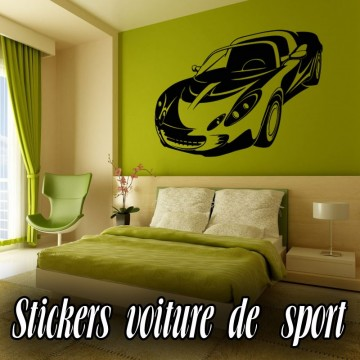Stickers Voiture de Sport 8