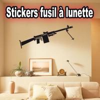 stickers Fusil à lunette fl2