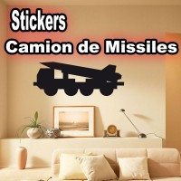 Stickers Camion Missiles