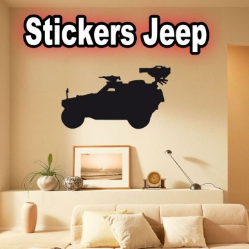 Stickers Jeep sp2