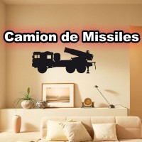 Stickers Camion Missiles scm2