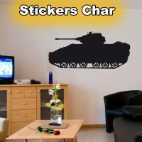 Stickers Char de Guerre 3