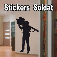 Stickers Soldat ss5