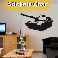 Stickers Char de Guerre scg4
