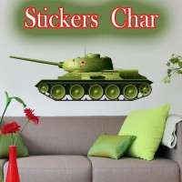Stickers Char de Guerre scg5