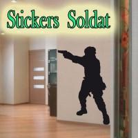 Stickers Soldat ss6
