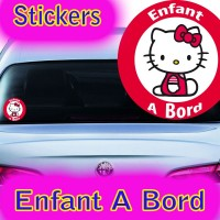 Stickers Enfant à Bord  1