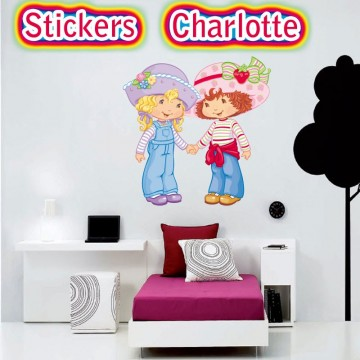 stickers Charlotte et sa copine