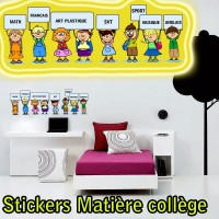 Stickers Ecolier