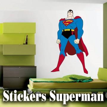 stickers Superman