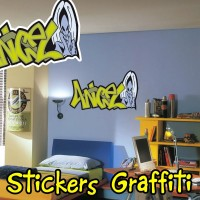 Stickers Graffiti Angel