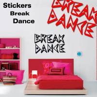 Stickers Break Dance