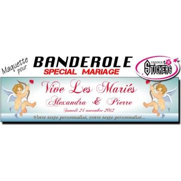 Banderole Mariage Personnalisée (M0011FS2012)