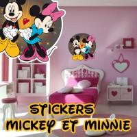 stickers Mickey et Minnie