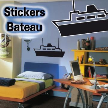 Stickers Autocollant Bateau