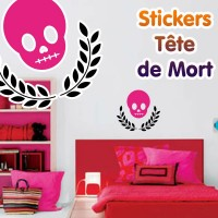 Stickers Tête de Mort 19