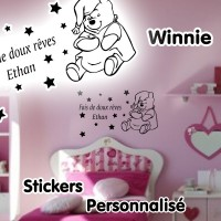 Stickers Winnie Personnalisé