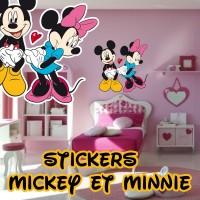 stickers Mickey et Minnie 2