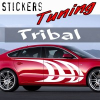 Stickers Tuning Tribal par 2 STT11