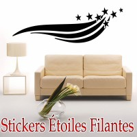 Stickers Étoiles filantes