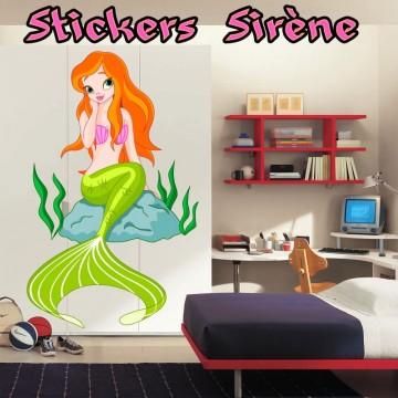 Stickers Autocollant Sirène