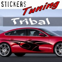 Stickers Tuning Tribal par 2 STT12