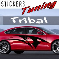 Stickers Tuning Tribal par 2 STT13
