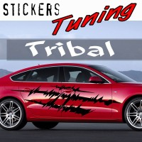 Stickers Tuning Tribal par 2 STT14