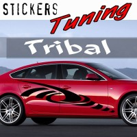 Stickers Tuning Tribal par 2 STT18