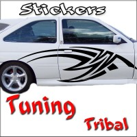 Stickers Tuning Tribal par 2 STT19
