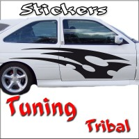 Stickers Tuning Tribal par 2 STT17