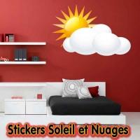 Stickers  Soleil et Nuages