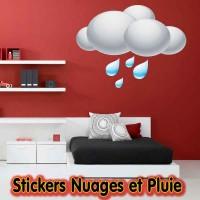 Stickers Nuages et Pluie
