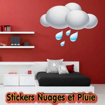 Stickers Nuage et Pluie