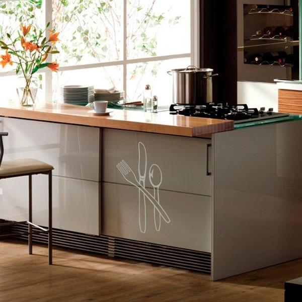 stickers couverts de cuisine pas cher france stickers. Black Bedroom Furniture Sets. Home Design Ideas