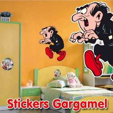 Stickers Gargamel