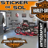 Stickers Harley Davidson - SPÉCIAL SOL