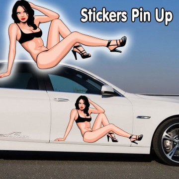 stickers Pin up 1