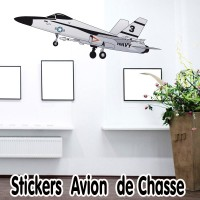Stickers Avion de Chasse