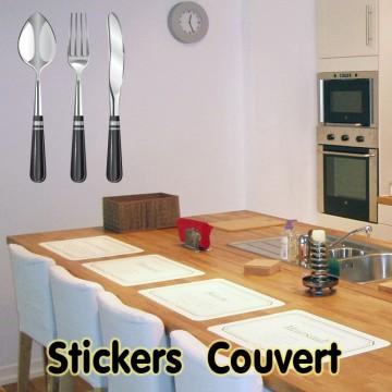 Stickers Couverts De Cuisine 3