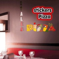 Stickers Pizza
