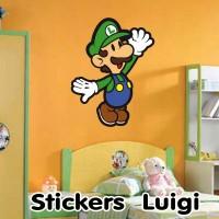 Stickers Mario Bross Luigi