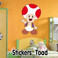 Stickers Mario Bross Toad
