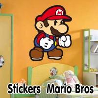 Stickers Mario Bros