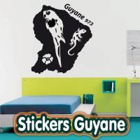 Stickers Guyane