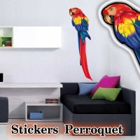 Stickers Perroquet 4