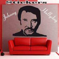 Stickers Johnny Hallyday